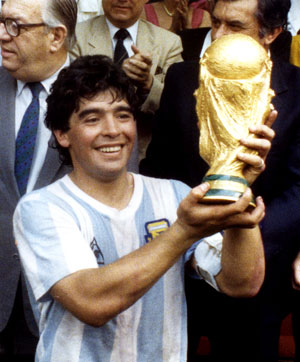 What do Maradona and BBQ have in common?
